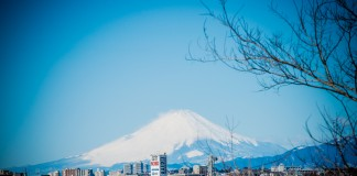 Mt. Fuji from a distance