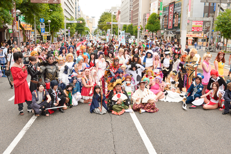 Picture of Cosplayers in Nagoya