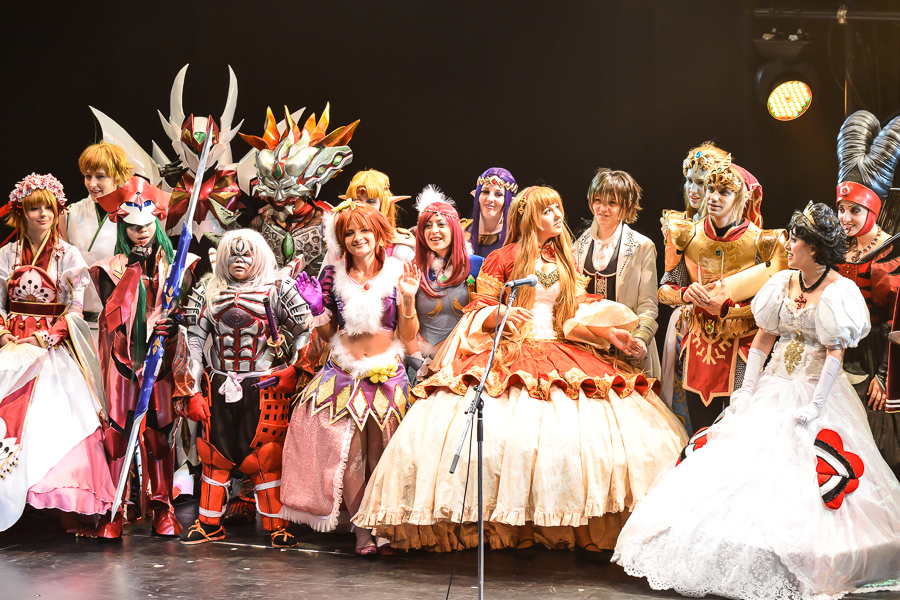 Picture of Cosplayers on Stage