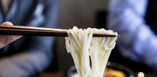 Slurping Noodles in Japan