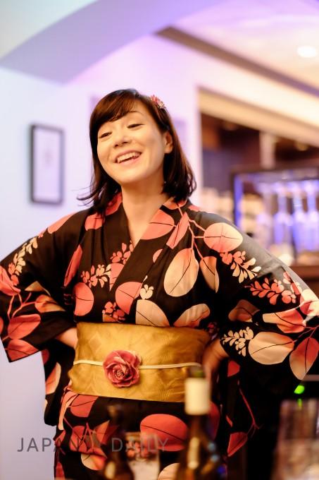Aya Smiling