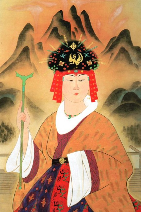Queen Himiko of Yamatai