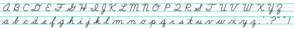 cursive-alphabet
