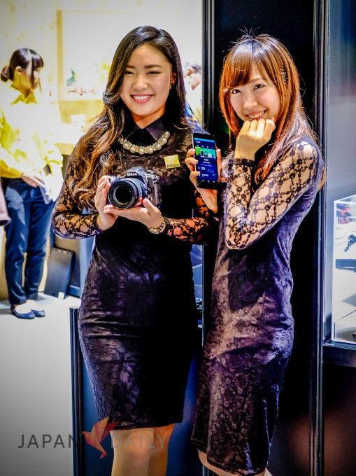 Nikon Booth Girls