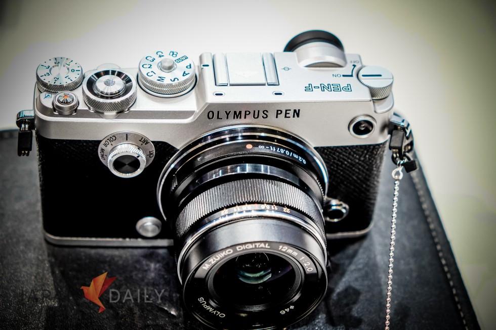 Olympus Pen F Front