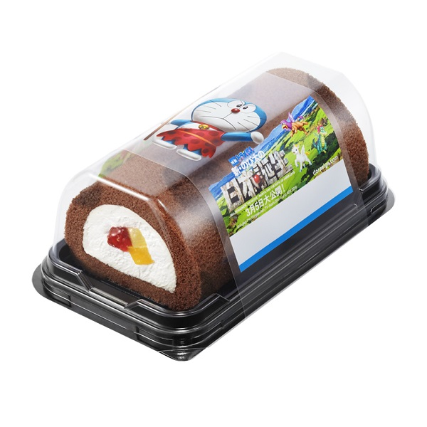 Eho-maki cake rolls were a big hit this year with popular children's characters such as Doraemon and Yokai Watch Source: Aeon Otoku