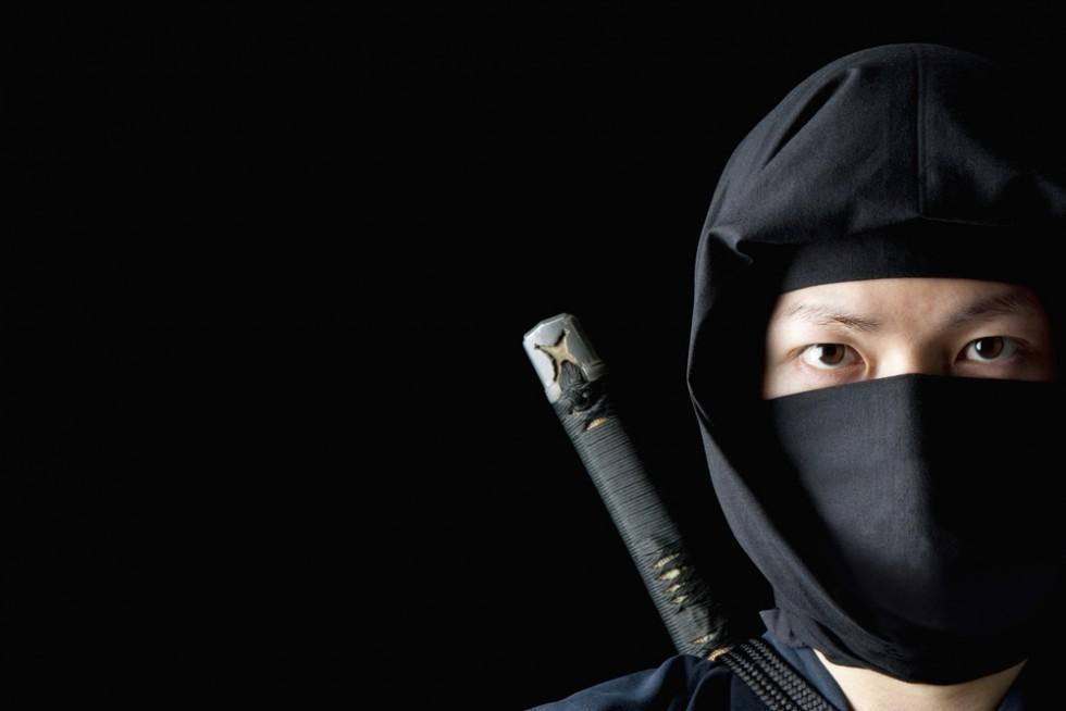 Japanese male Ninja