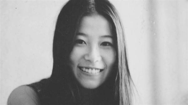 A photo of Fusako Shigenobu from her time at Meiji University where she became increasingly involved in the student movements to protest tuition hikes.
