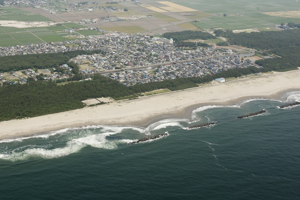 The Arahama district was the gateway to one of Sendai's best beaches and home to about 2,700 residents before the tsunami. --City of Sendai
