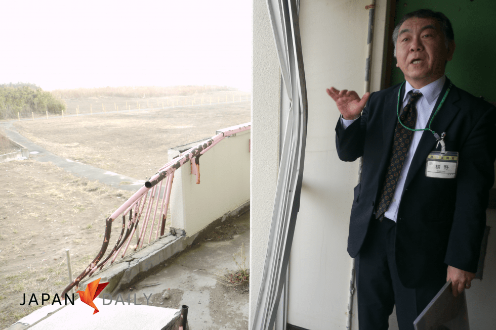 """We will preserve this building as a monument and reminder to let future generations know  not to build here anymore."" -- Koichiro Yokono, Director, Sendai Post-Disaster Reconstruction Bureau"