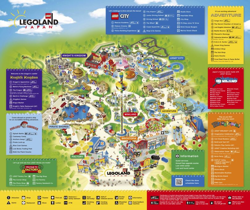 Map of Legoland